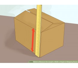 How do you measure a box?